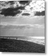 Old Hunstanton Beach, Norfolk Metal Print