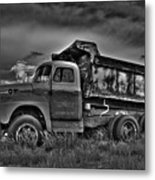 Old International - Bw 2 Metal Print
