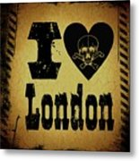 Old London Metal Print