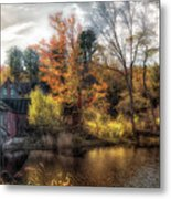 Old Mill Boards Metal Print