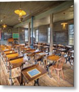 Old Schoolroom Metal Print