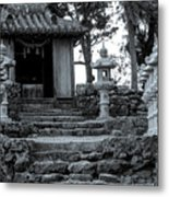 Old Shrine Metal Print