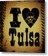 Old Tulsa Metal Print