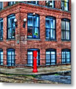 Old World Brooklyn Metal Print