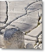 Olmstead Rock And Cracks 2 Metal Print