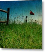 On The Breeze Metal Print