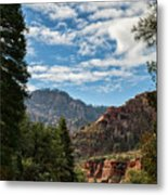 On The Road To Red Rocks  Metal Print