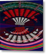 Opposit Arc Pattern Abstract Digital Graphic Art Interior Decorations Buy Painting Print Poster Pill Metal Print by Navin Joshi