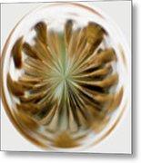 Orb Image Of A Dandelion Metal Print
