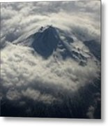 Oregon Mountain Metal Print