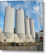 Oulu From The Sea 5 Metal Print