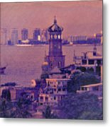 Our Lady Of Guadalope In Puerto Vallerta Mexico. Banderas Bay. Metal Print