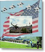 Our Memorial Day Salute Metal Print