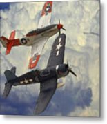 Over The Clouds Metal Print by Steve K