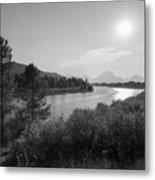 Oxbow Bend Grand Teton National Park  Metal Print