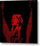 Ozzy Osbourne Metal Print