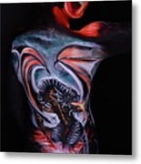 Painful Release Metal Print
