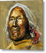 Painted sands of time Metal Print
