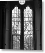 Palace Window Metal Print