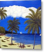 Palm Bay Metal Print