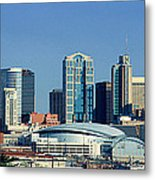 Panoramic View Of Nashville, Tennessee Metal Print