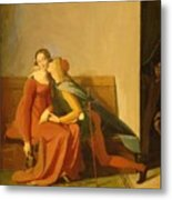 Paolo And Francesca Metal Print