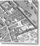Paris 1730 Metal Print