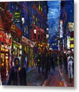 Paris Quartier Latin 01 Metal Print