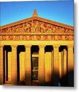 Parthenon In Nashville Metal Print