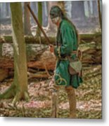 Passing Through Cook Forest Metal Print