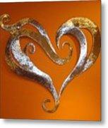 Passion Hearts Metal Print