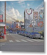Pat's And Geno's Metal Print by Jack Paolini