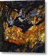 Patterns In Stone - 218 Metal Print