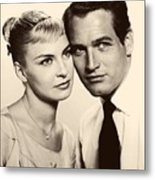 Paul Newman And Joanne Woodward In The Long Hot Summer 1958 Metal Print