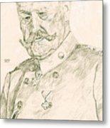 Paul Von Hindenburg Metal Print