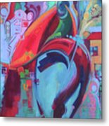 Peace Conference Metal Print