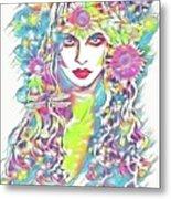 Peko - Keeper Of Flora Metal Print