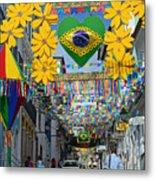 Pelourinho - The Historic Center Of Salvador Metal Print