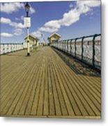 Penarth Pier 7 Metal Print