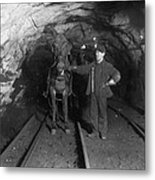 Pennsylvania: Coal Mine Metal Print
