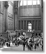 Pennsylvania Station Interior Metal Print
