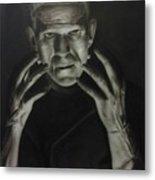 People- Frankenstein's Monster Metal Print