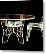 Perspex Furniture Metal Print