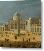 Peters Basilica Metal Print