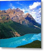 Peyto Lake, Banff National Park Metal Print