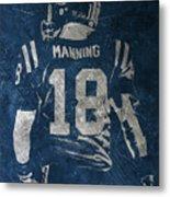 Peyton Manning Colts 2 Metal Print