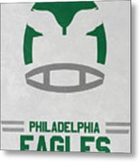 Philadelphia Eagles Vintage Art Metal Print