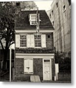 Philadelphia - The Betsy Ross House Metal Print