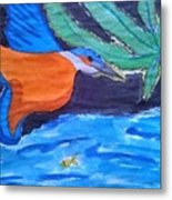 Philippine Kingfisher Painting Contest 1 Metal Print