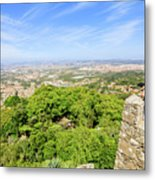 Photographer At Moorish Fortress Metal Print